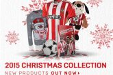 Saints' Christmas range available now