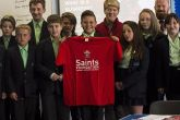 Clare Balding signs up as Saints Foundation ambassador