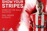 Pre-order your 2015/16 home shirt from Monday